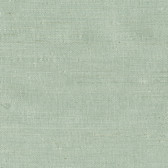 Kimi Light Green Grasscloth Wallpaper