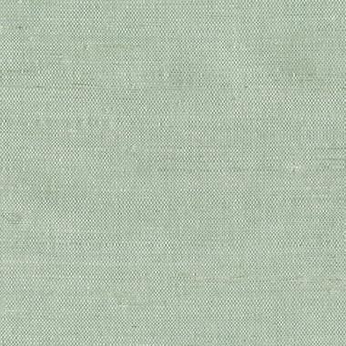 Kimi Light Green Grasscloth Wallpaper