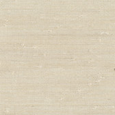 Ling Cream Grasscloth Wallpaper