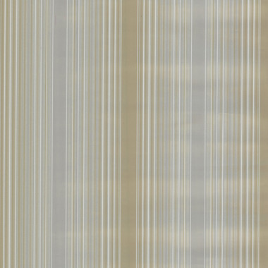Casco Bay Pewter Ombre Pinstripe Wallpaper