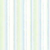Belfast Aqua Galop Stripe Wallpaper