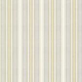 Ellsworth Butter Sunny Stripe Wallpaper