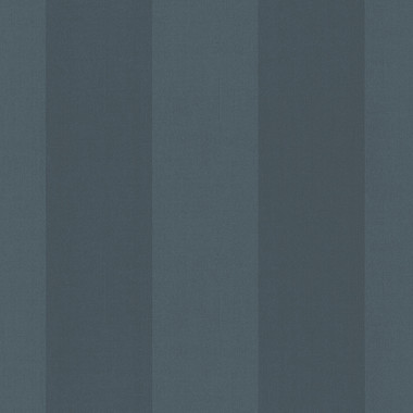 Harpswell Navy Herringbone Awning Stripe Wallpaper