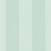 Harpswell Aqua Herringbone Awning Stripe Wallpaper