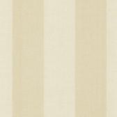 Harpswell Cream Herringbone Awning Stripe Wallpaper
