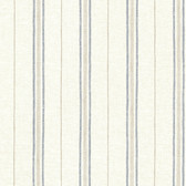 Calais Navy Grain Stripe Wallpaper
