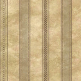 Castine Moss Tuscan Stripe Wallpaper