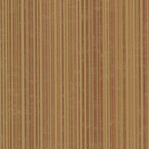 Wells Burnt Sienna Candy Stripe Wallpaper