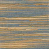 Jissai Mariner Blue Grasscloth