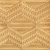 Lena Brown Wood Veneers Wallpaper