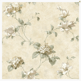 PN58671 White Annalee Trail White wallpaper