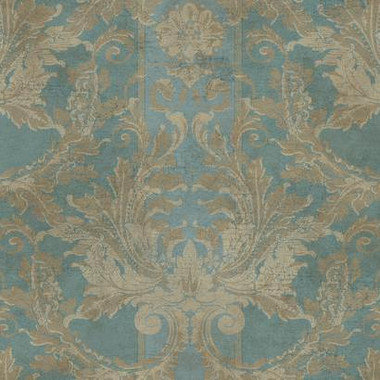 AIDADAMASKW/STRIPE GF0789 by York wallcovering, this is an antique design of wallpaper at cheap price