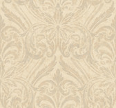 Opal Essence Glitter Damask Wallpaper