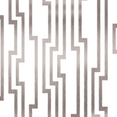 Candice Olson Shimmering Details DE8816Velocity White-Silver Wallpaper