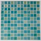 TIL3226FLT - Blue Mosaic StickTILESÌ´Ì_Ì´Ìö - 4 Pack
