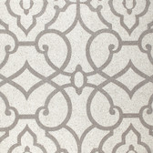 Candice Olson Shimmering Details DE8823 Grillwork Mica White-Silver Wallpaper
