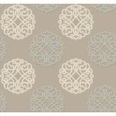Candice Olson Shimmering Details DE8863 Duo Beige-Grey Wallpaper