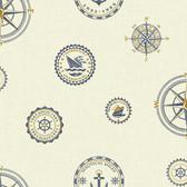 Nautical Living Nautical Spot Wallpaper