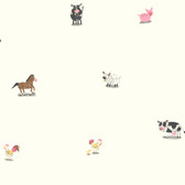 Brothers and Sisters V Barnyard Spot Wallpaper