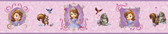 WALT DISNEY KIDS II SOFIA & FRIENDS BORDER