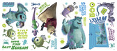 WALT DISNEY KIDS II MONSTERS INC WALL DECAL