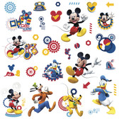 WALT DISNEY KIDS II MICKEY MOUSE CLUBHOUSE CAPERS WALL DECAL