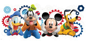 WALT DISNEY KIDS II MICKEY MOUSE CLBHSE CAPERS GIANT WALL DECAL