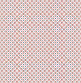 Eebe Pink Floral Geometric Wallpaper