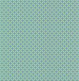 Eebe Green Floral Geometric Wallpaper