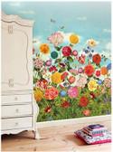Wild Flowerland Mural 341085 Mural