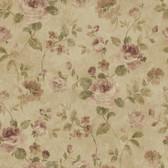 Brown Larkin Wallpaper