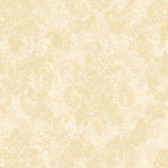 Beige Dreamy Damask Wallpaper