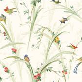 White Meadow Lark Wallpaper