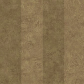 Brown Awning Stripe Wallpaper