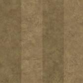 Brown Awning Stripe Wallpaper
