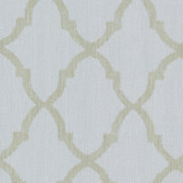 Oscar Light Blue Fretwork Wallpaper