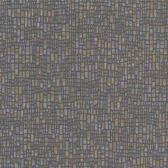 Spencer Charcoal Mosaic Wallpaper