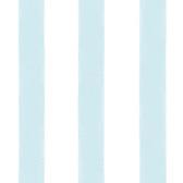 Waterside Aqua Stripe Wallpaper