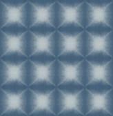 Echo Blue Geometric Wallpaper