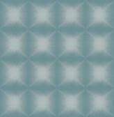 Echo Teal Geometric Wallpaper