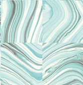 Agate Aqua Stone Wallpaper