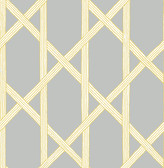 Mandara Grey Trellis Wallpaper