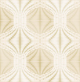 Optic Gold Geometric Wallpaper