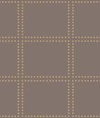 Gridlock Brown Geometric Wallpaper