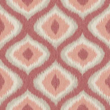 Abra Pink Ogee Wallpaper