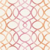 Twister Pink Trellis Wallpaper