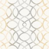 Twister Ginger Trellis Wallpaper