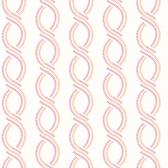 Helix Pink Stripe Wallpaper
