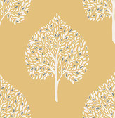 Grove Mustard Tree Wallpaper