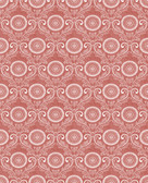 Jubilee Red Medallion Damask Wallpaper